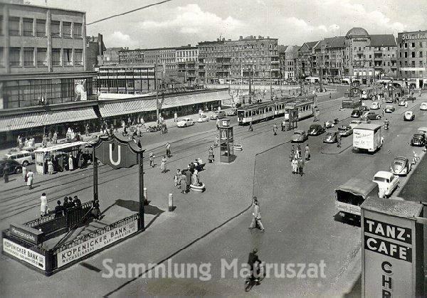 Berlin Hermannplatz   Alte Ansichtskarten